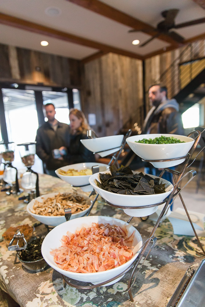 Food from Purple Onion Catering | Northern Virginia Wedding Caterer