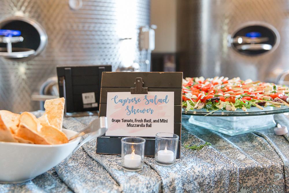 Delicious appetizers – caprese salad skewers