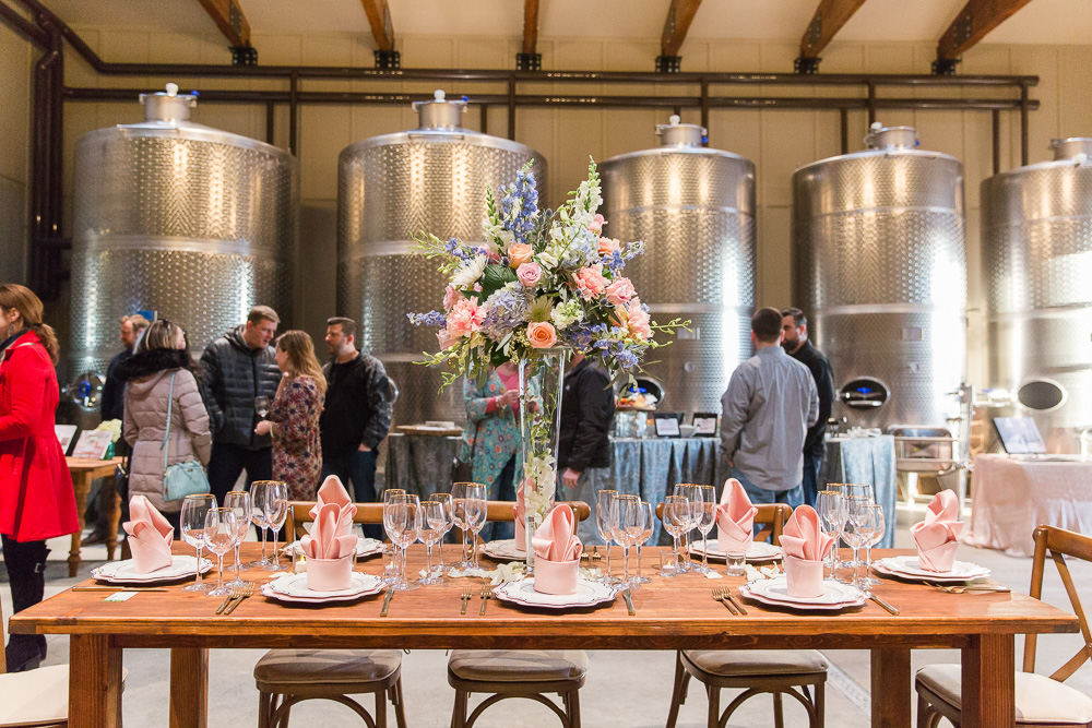 Best Wedding Venues in Northern Virginia | The Winery at Bull Run Production Barn | Virginia and DC Wedding Photography