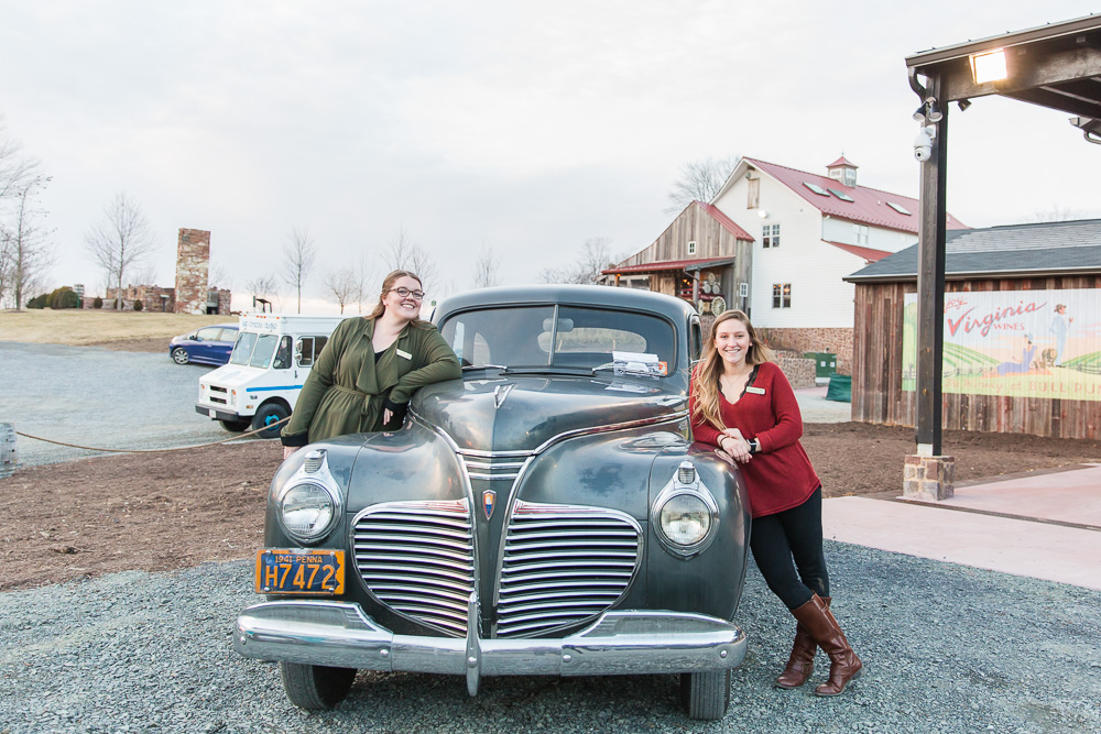 Vintage car rentals from Camelot Classic Cars in Northern Virginia
