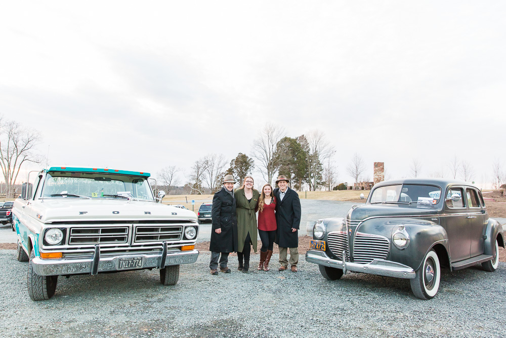Camelot Classic Cars | Rent vintage and classic cars for wedding day transportation in Northern Virginia | Warrenton, VA