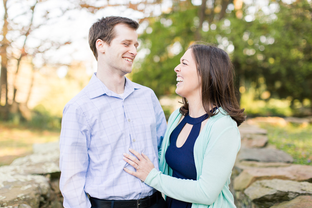 Candid engagement pictures in Warrenton, VA | Northern Virginia Candid Photographer | Megan Rei Photography