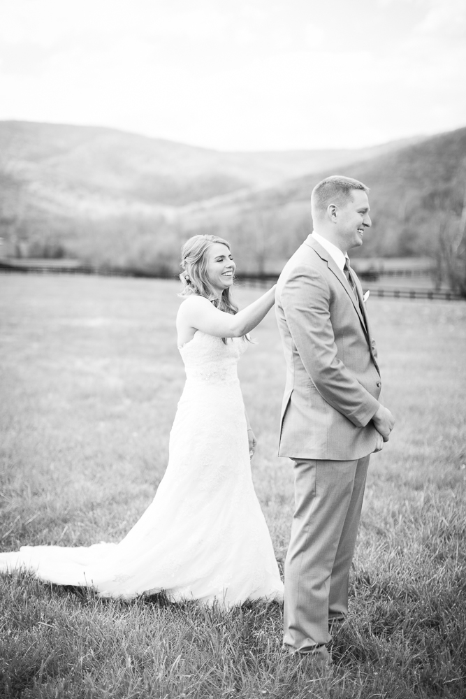 First Look at King Family Vineyards | Documentary Wedding Photographer
