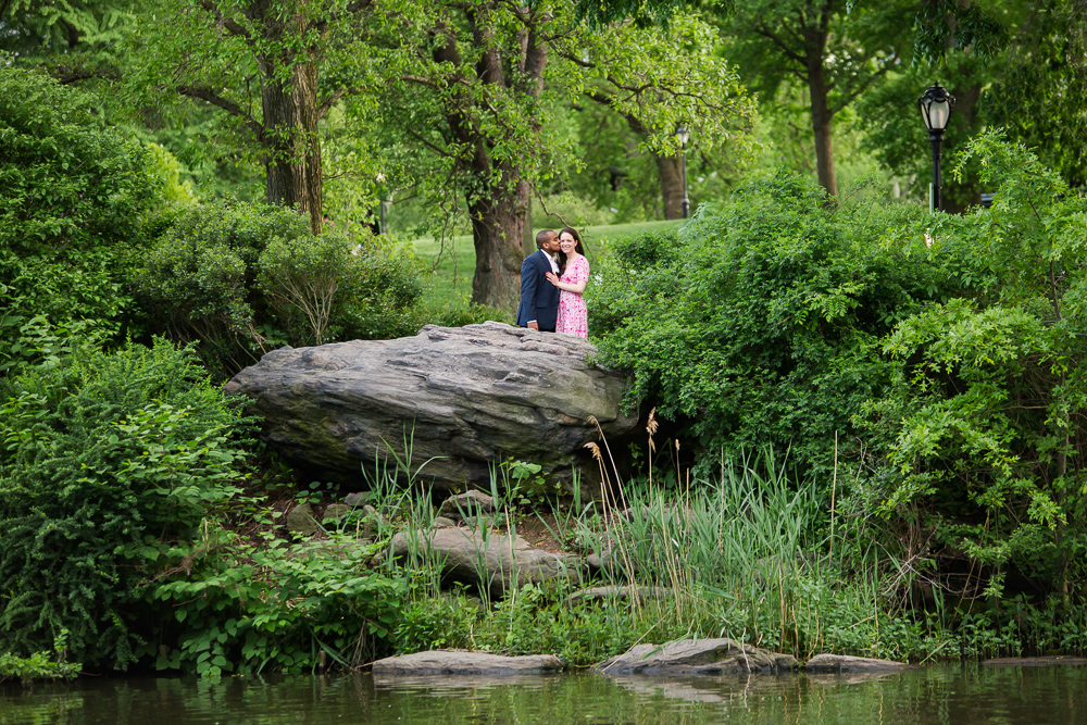 Best places in Central Park for engagement photos | Megan Rei Photography