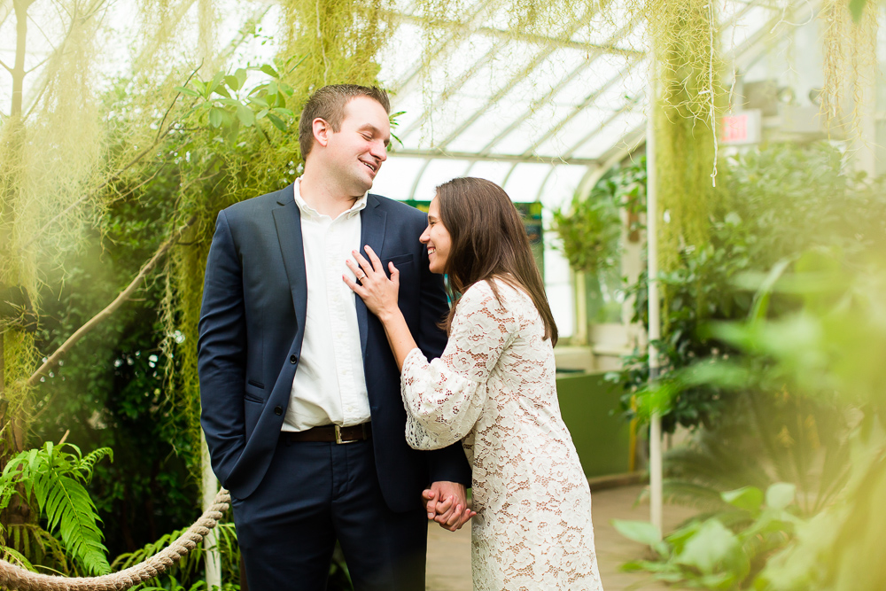 Candid laughter engagement pictures | Buffalo NY candid photographer