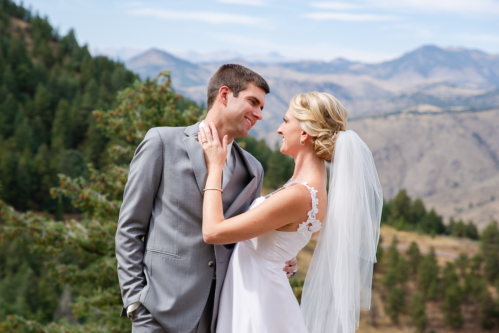 Wedding photos at Lookout Mountain in Golden, Colorado | Colorado Wedding Photography | Megan Rei Photography