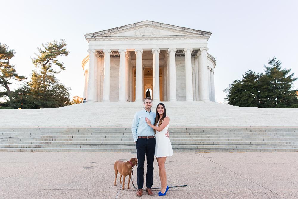 Jefferson Memorial engagement pictures | Best Engagement Photo Locations in Washington, DC