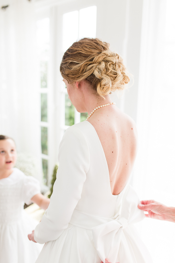 Bridal hair by Salon Emage Day Spa in Warrenton, Virginia