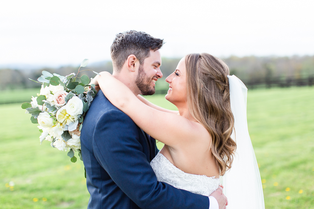 Wedding photo at Mount Ida Farm in Charlottesville