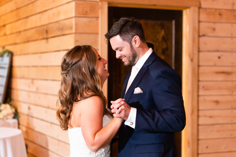 First dance as husband at wife