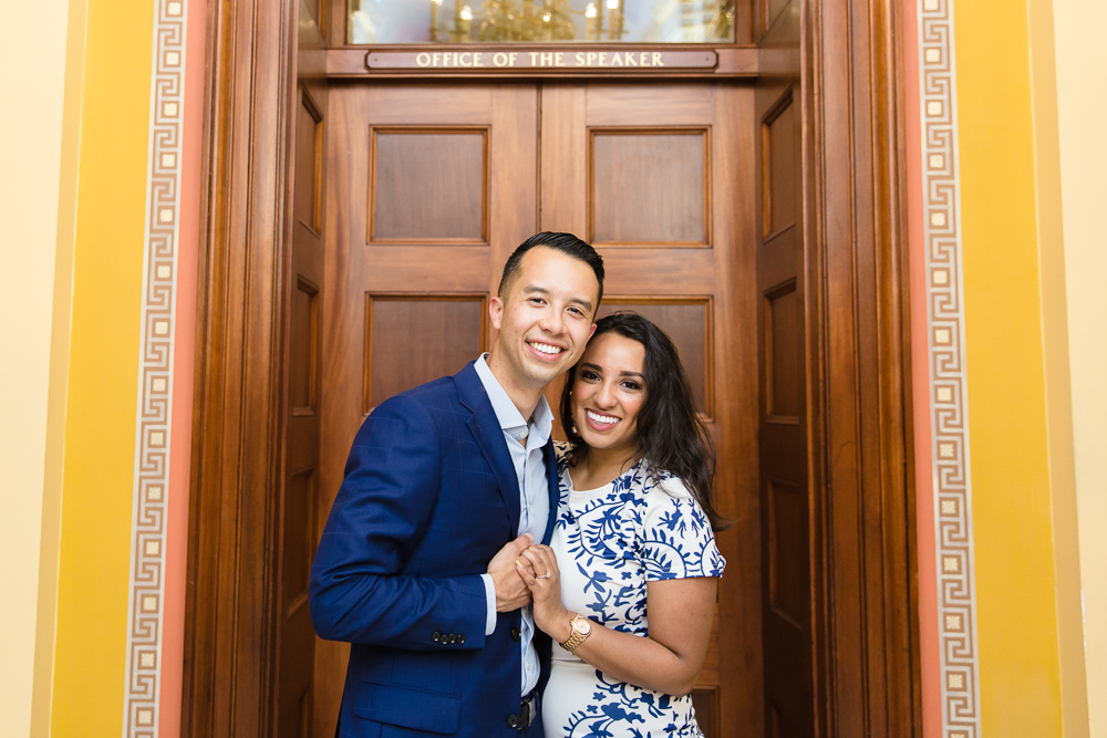 U.S. Capitol engagement pictures in Washington, DC