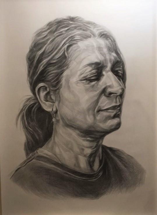 pencil drawing  48x56