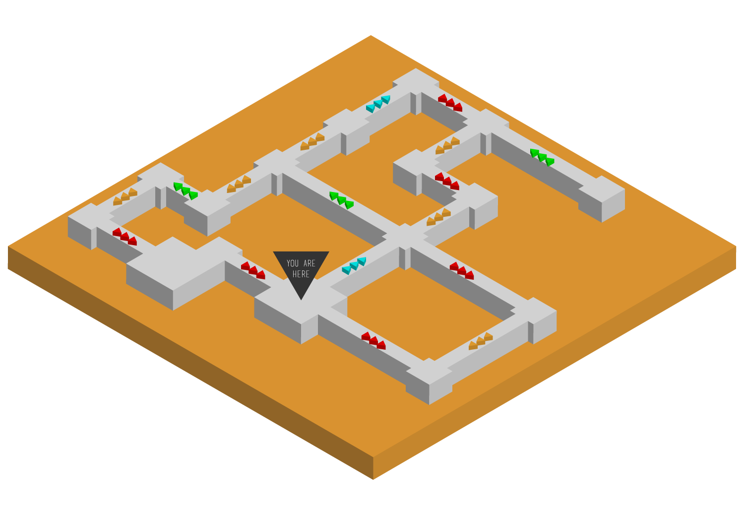 CONVEYOR BELT PUZZLE MAP