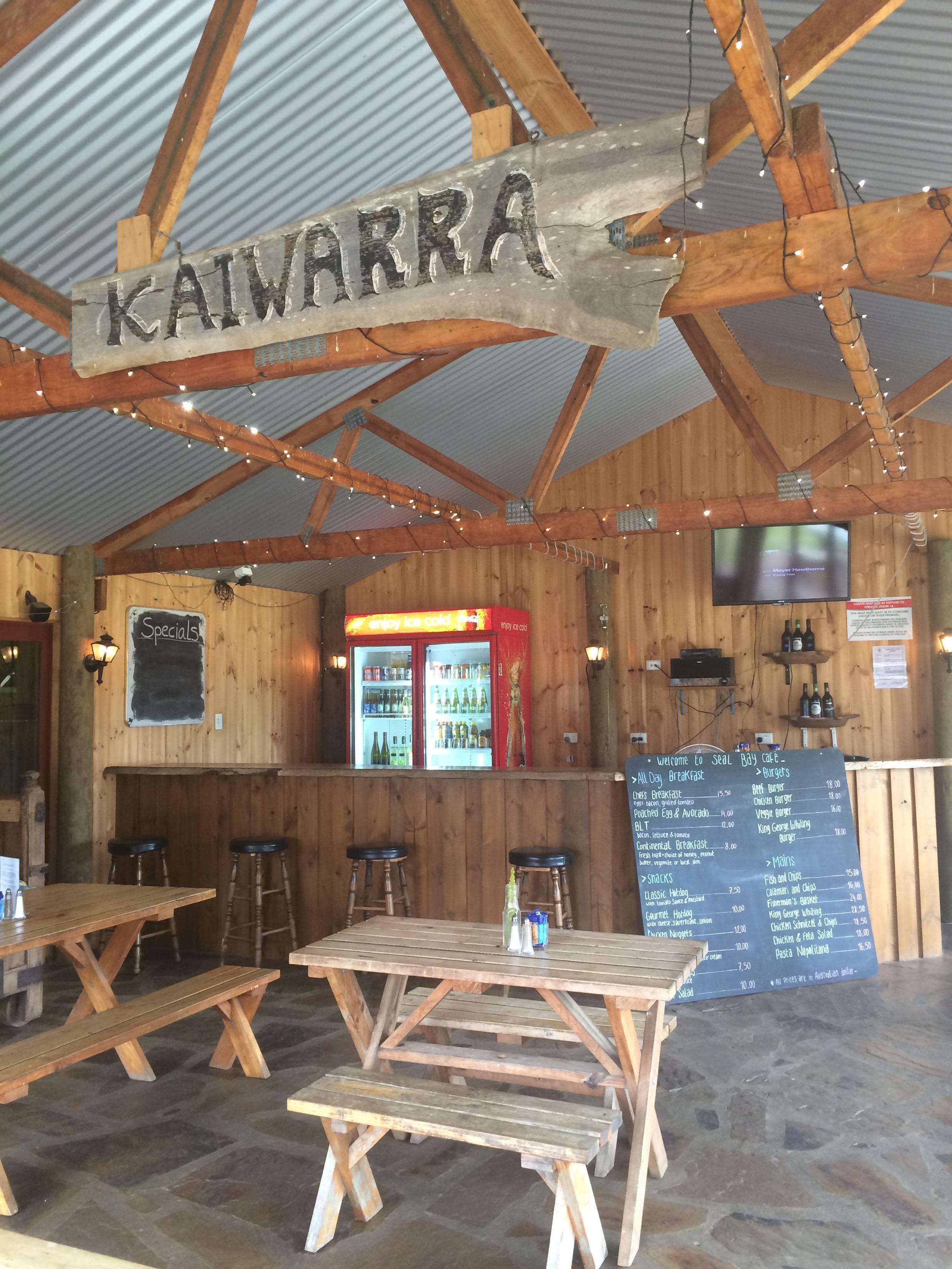 Seal Bay cafe
