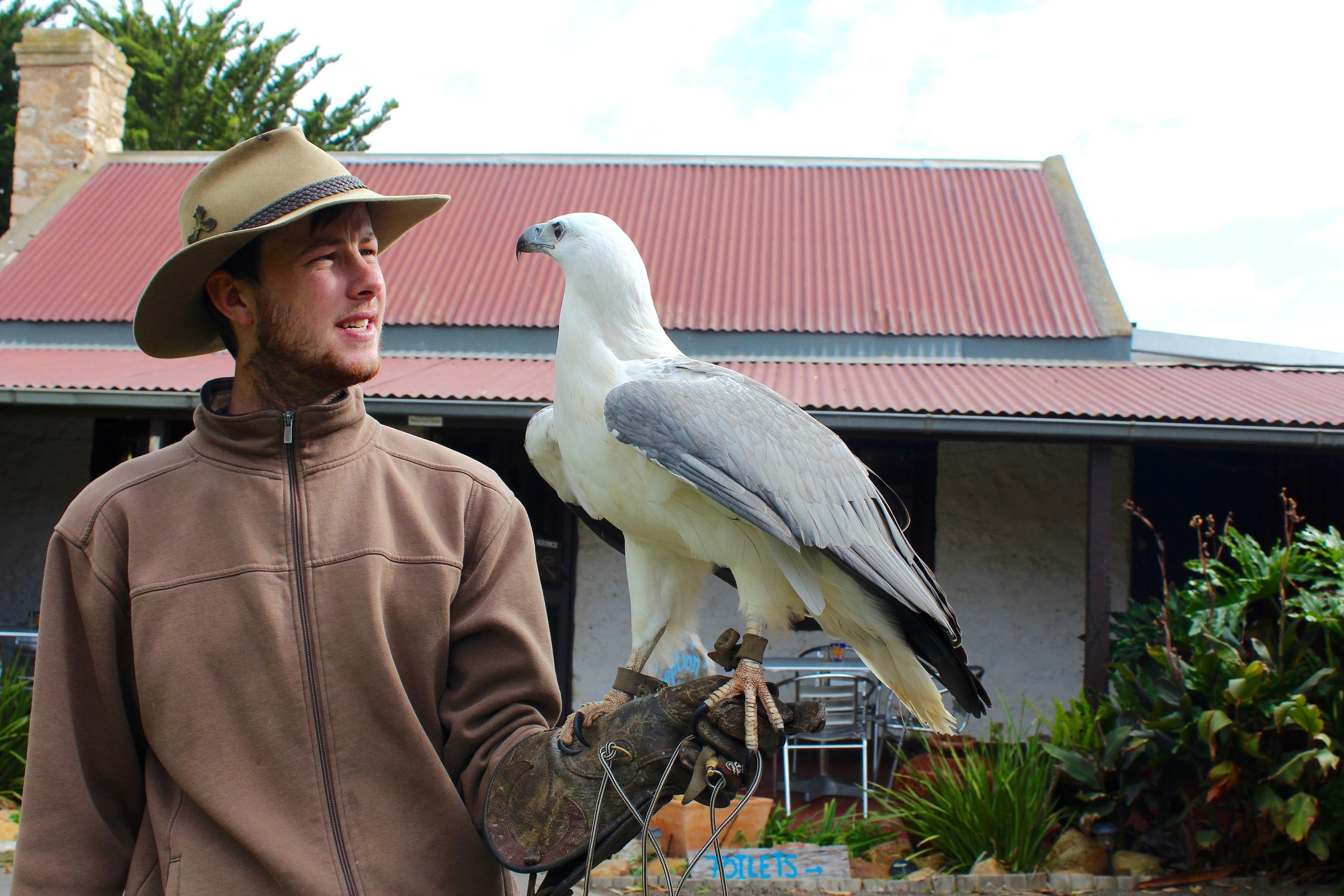 Mericai and his buddy.