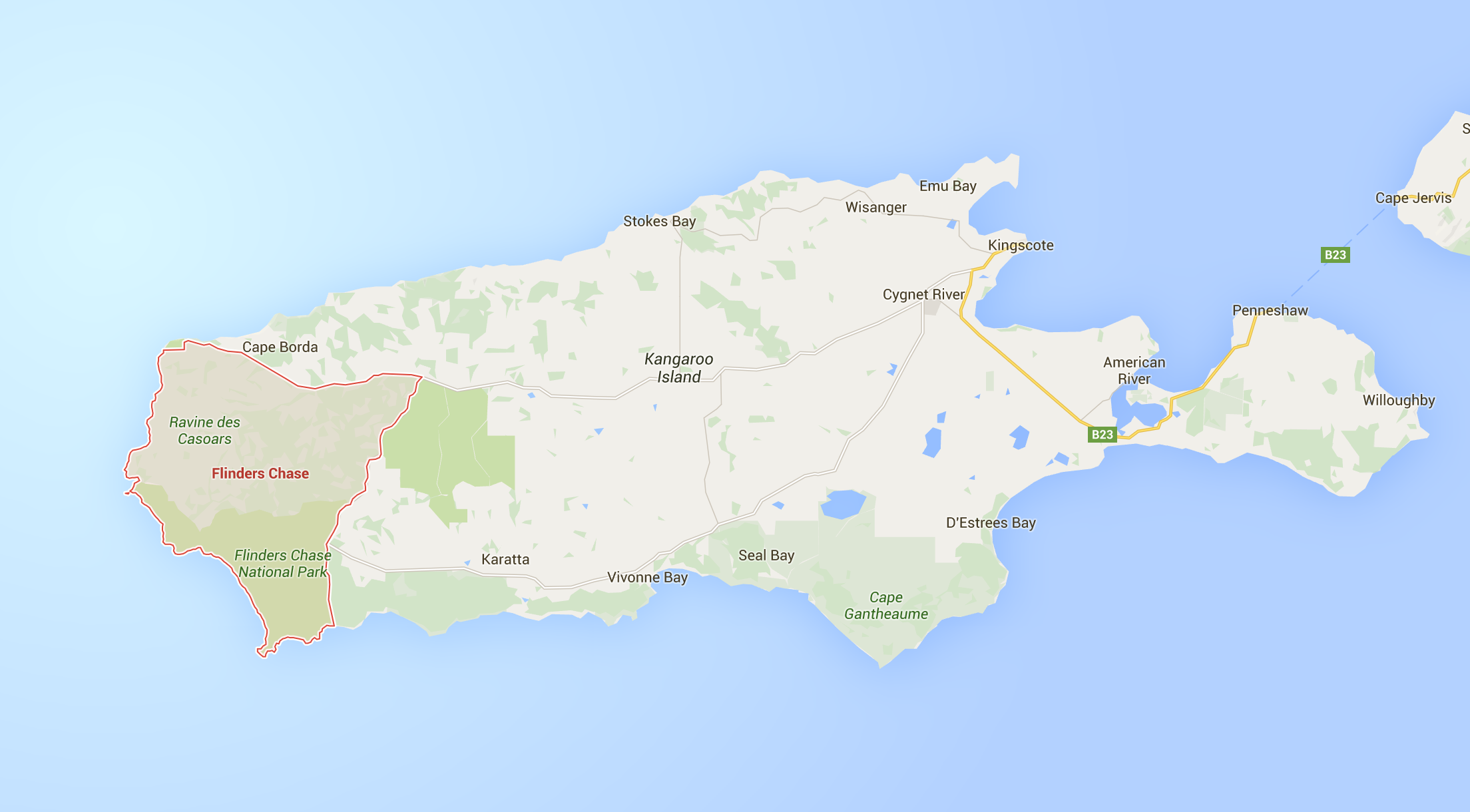 Flinders Chase, Kangaroo Island, Australia