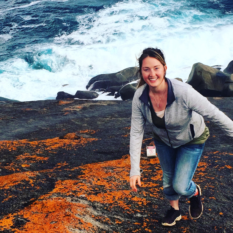 Me at Remarkable Rocks, Kangaroo Island