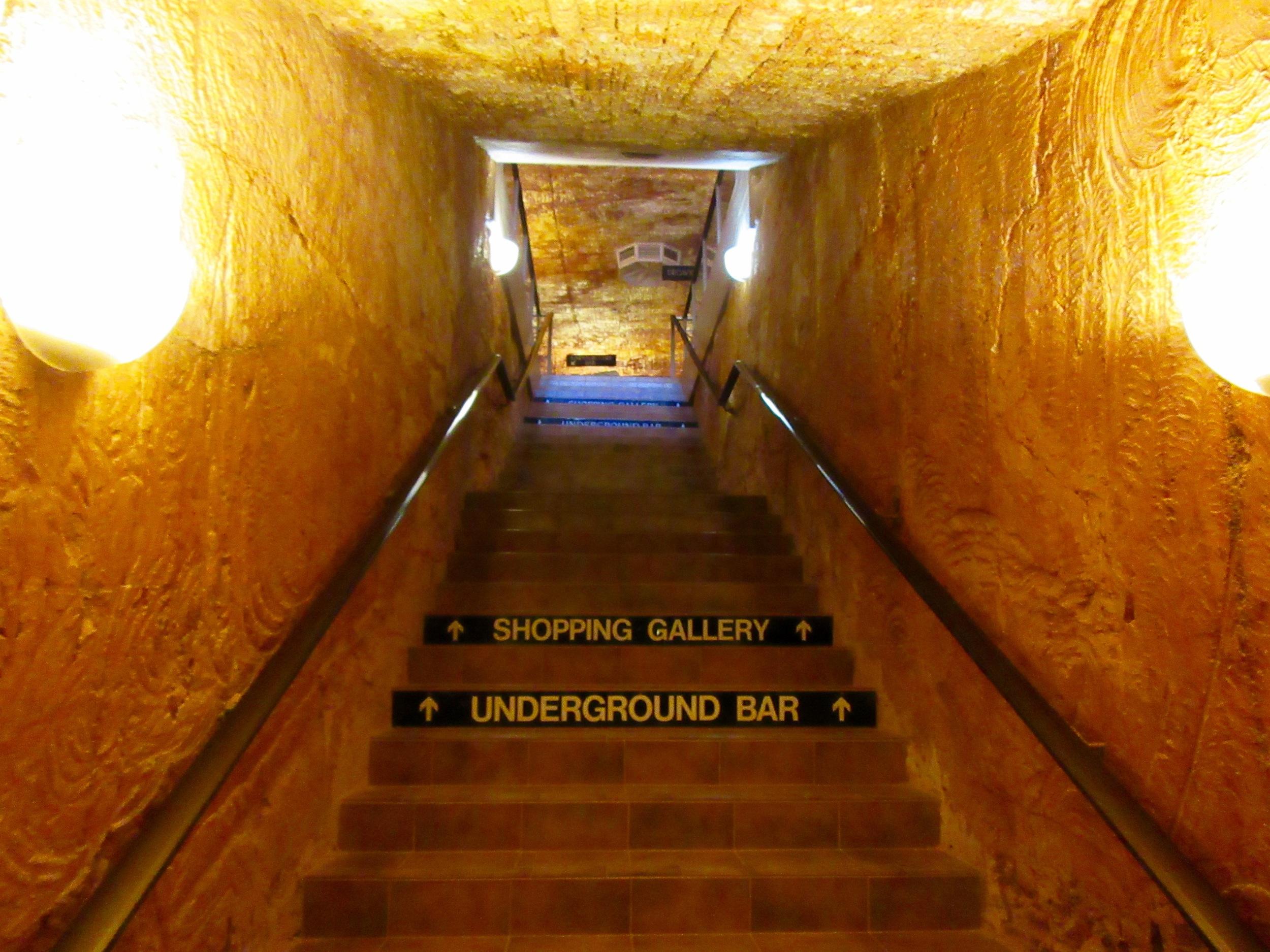 The Undergroundn Hotel in Coober Peddy, Australia