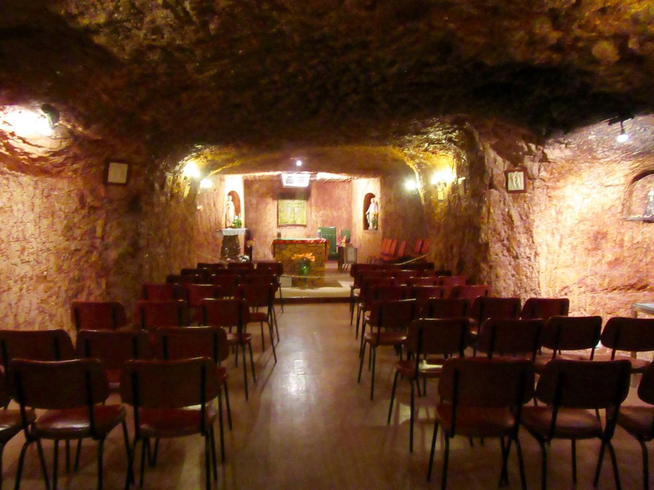 Underground Church in Coober Peddy