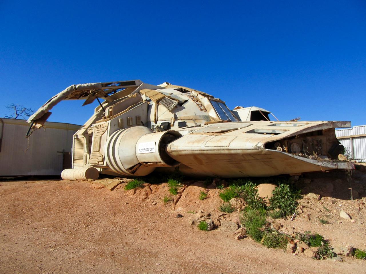 Mad Max Spaceship, Coober Peddy