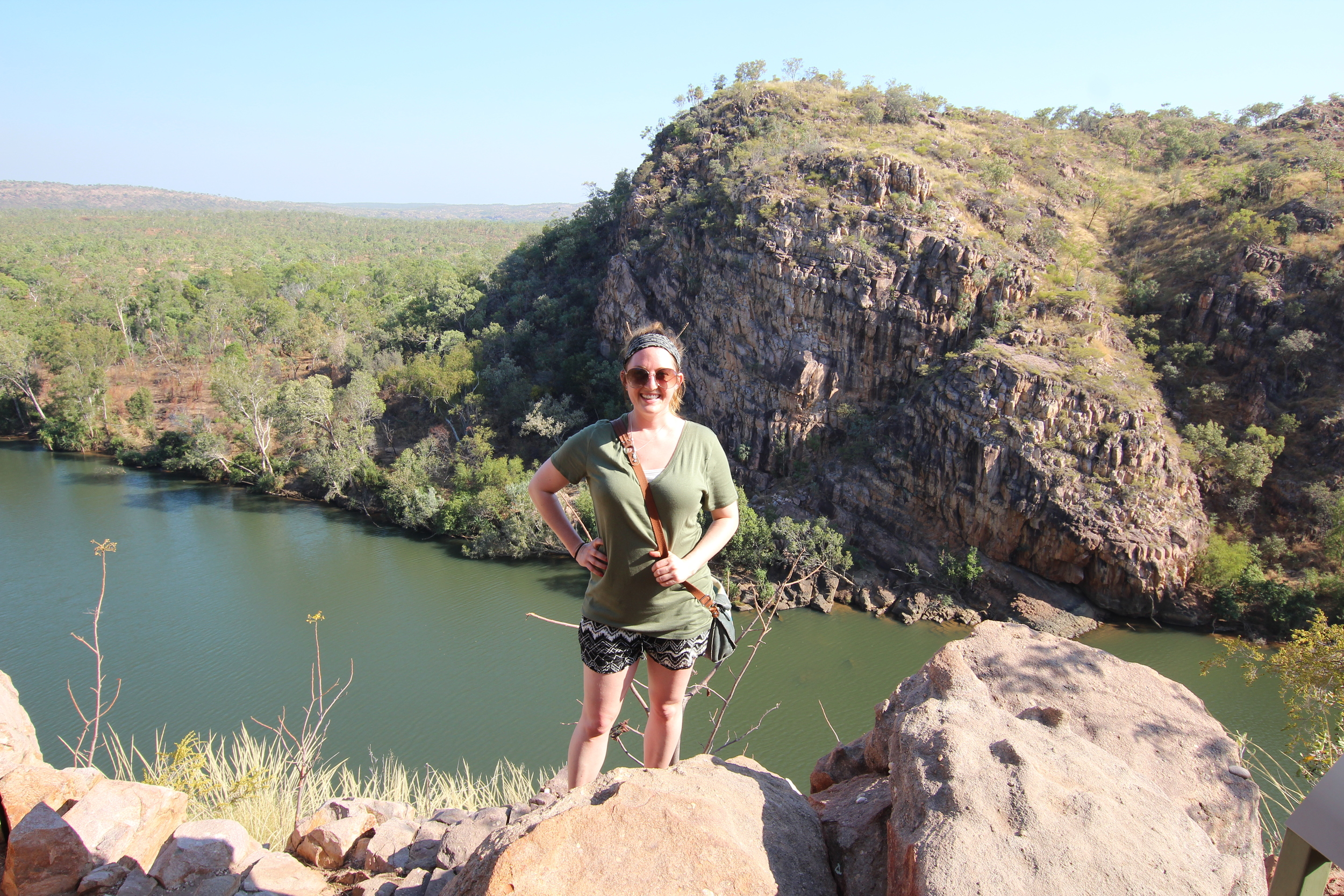 On top of Katherine Gorge