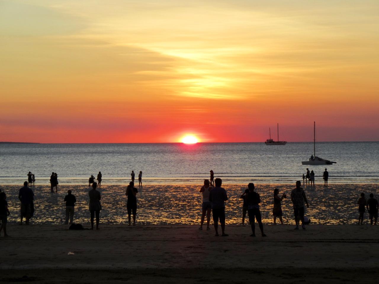 A classic Mindil Beach sunset.