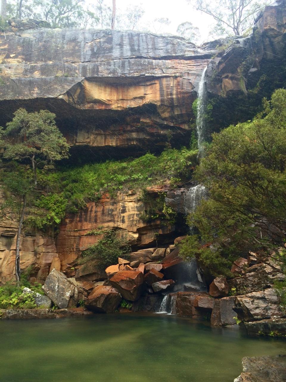 Rainbow Falls, Blackdown Tableland