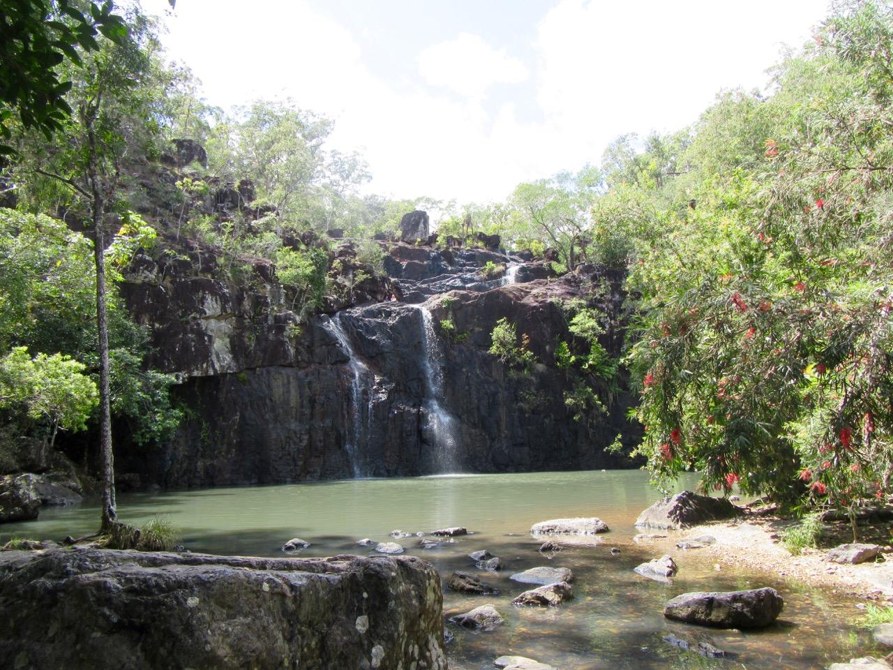 Cedar Creek Falls near Airlie Beach