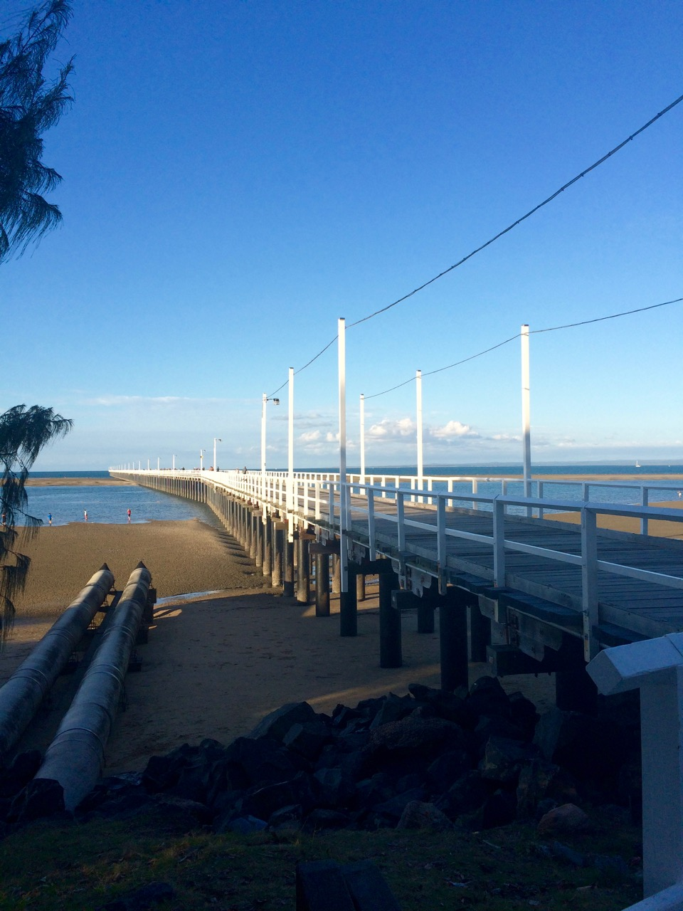 The famous pier at Hervey Bay.