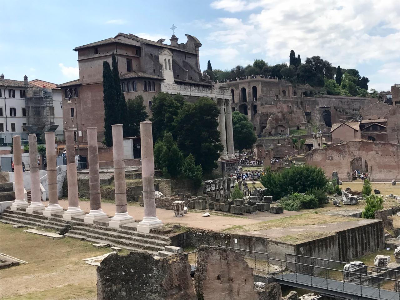 The Roman Forum, Haley Hoover. 2017