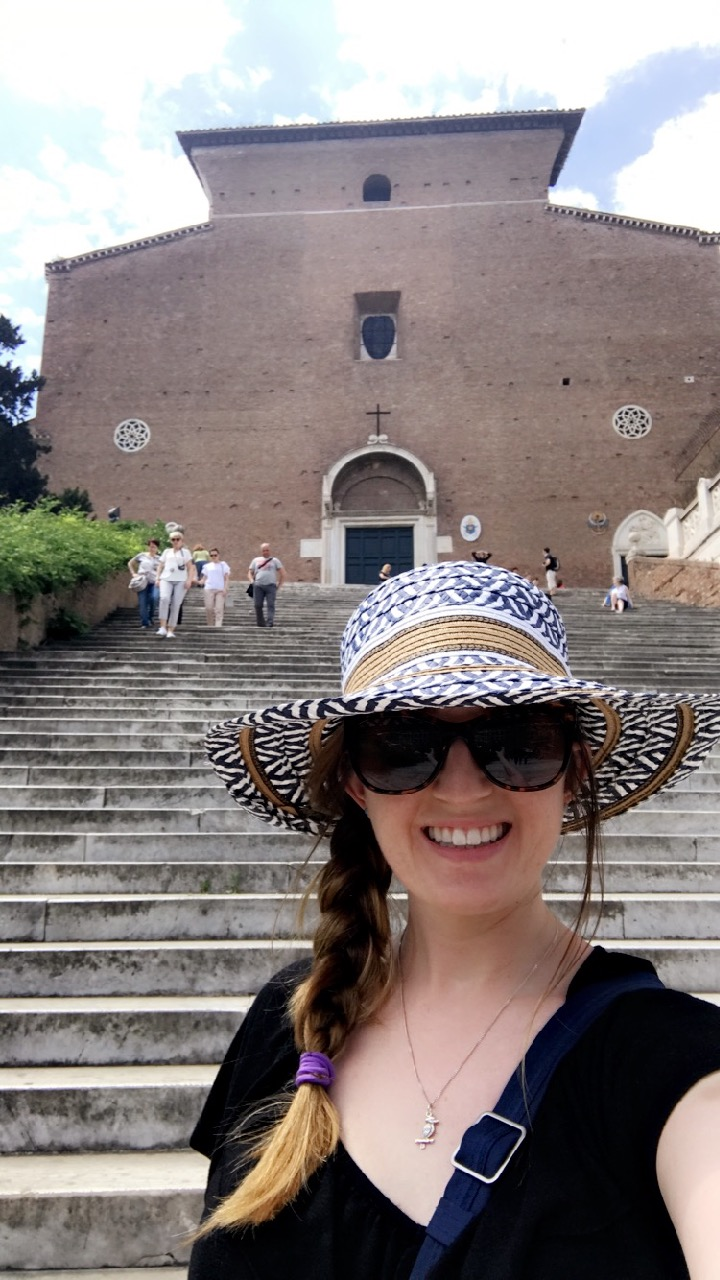 This is not the Spanish Steps...