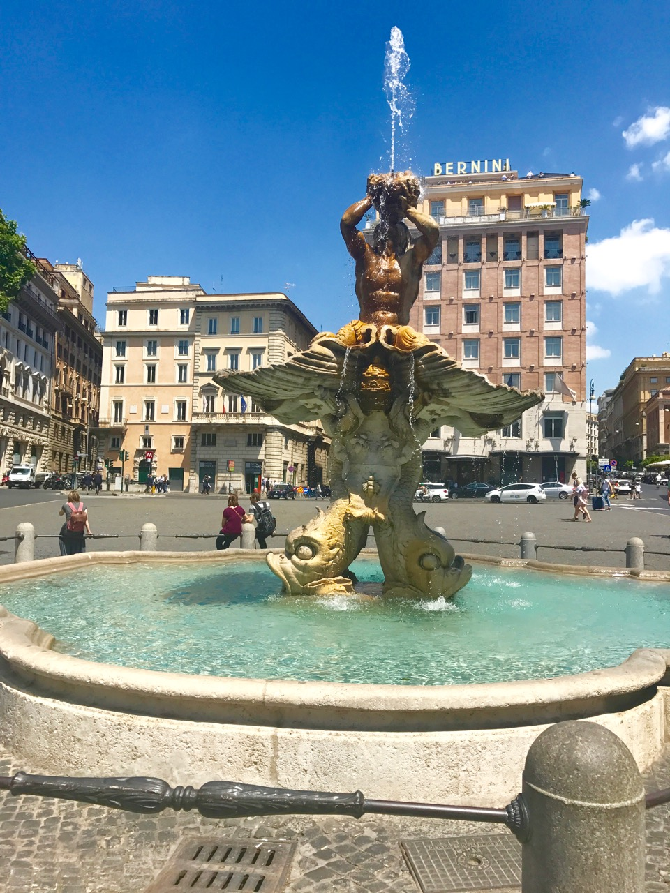 This is not Trevi Fountain..