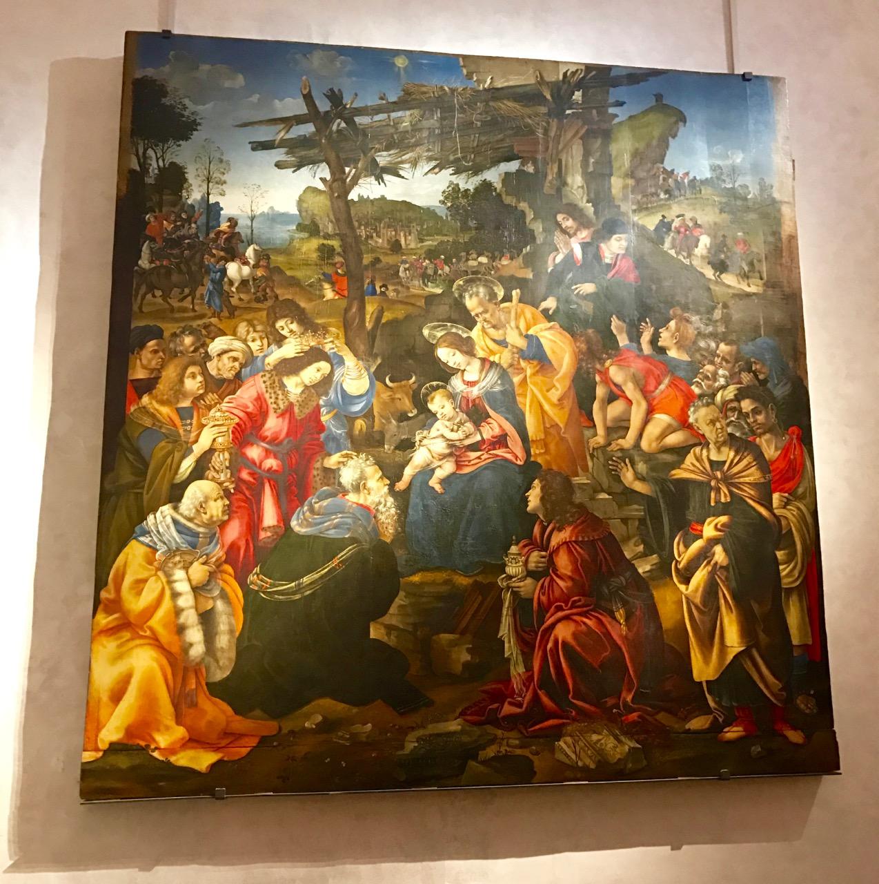 Adoration of the Magi, Lippi.