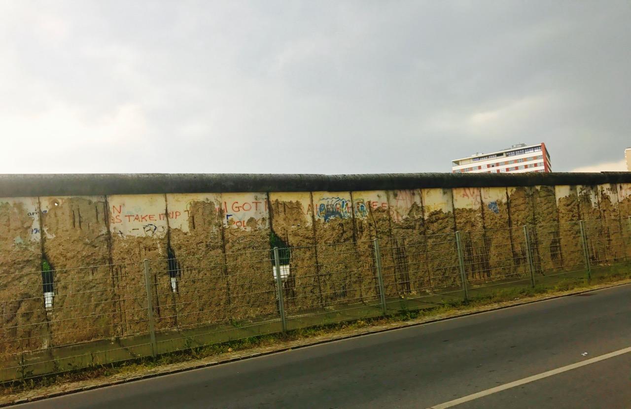 The Berlin Wall! Haley Hoover.