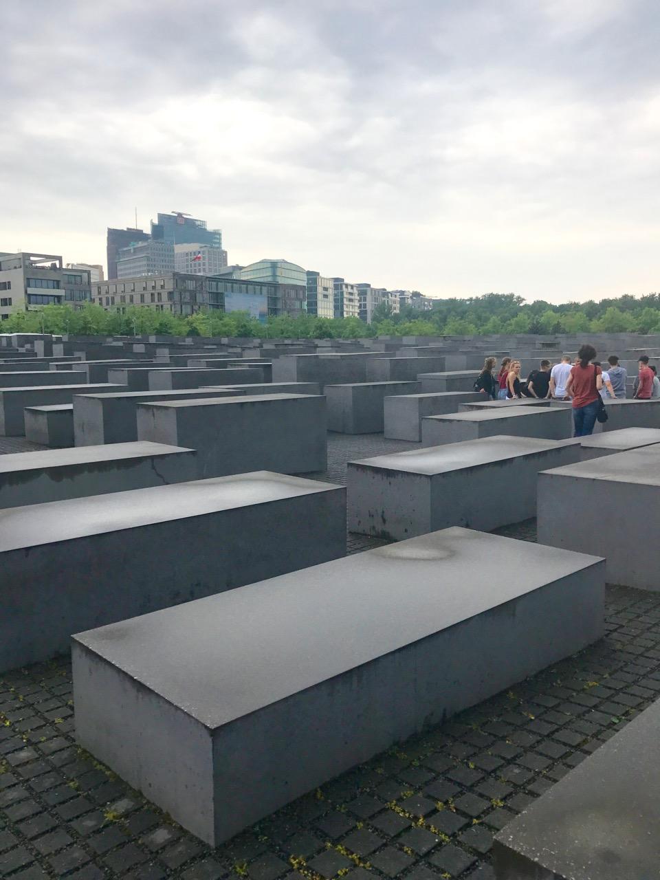 Holocaust Memorial, 2017. Haley Hoover