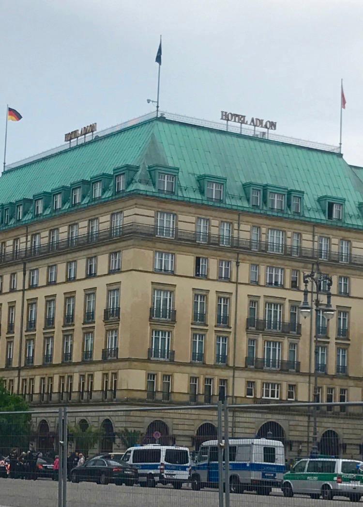 Hotel Adlon, Berlin.