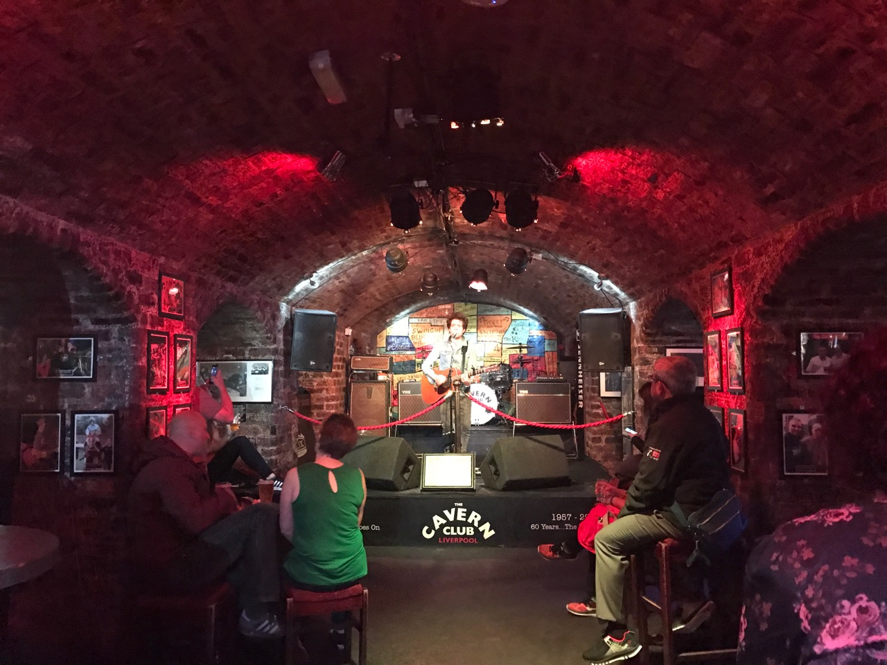Live Music at the Cavern Club in Liverpool!