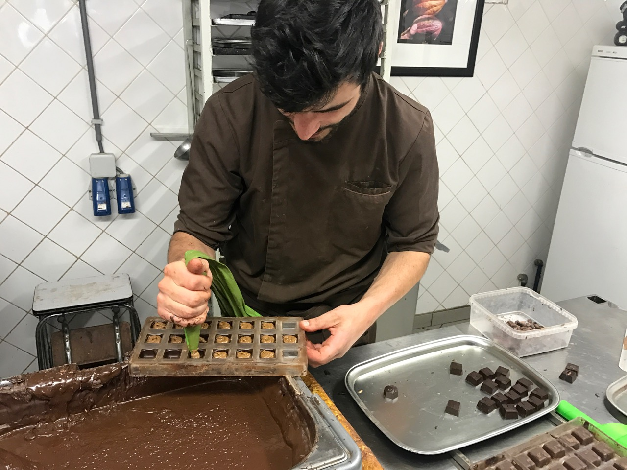 The choclatier at the Chocolate Museum was amazing!