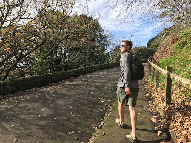 Hiking Mount Eden