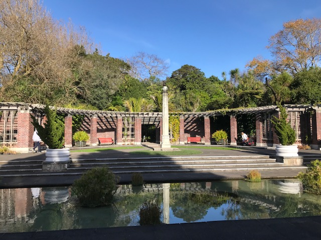The domain, winter garden