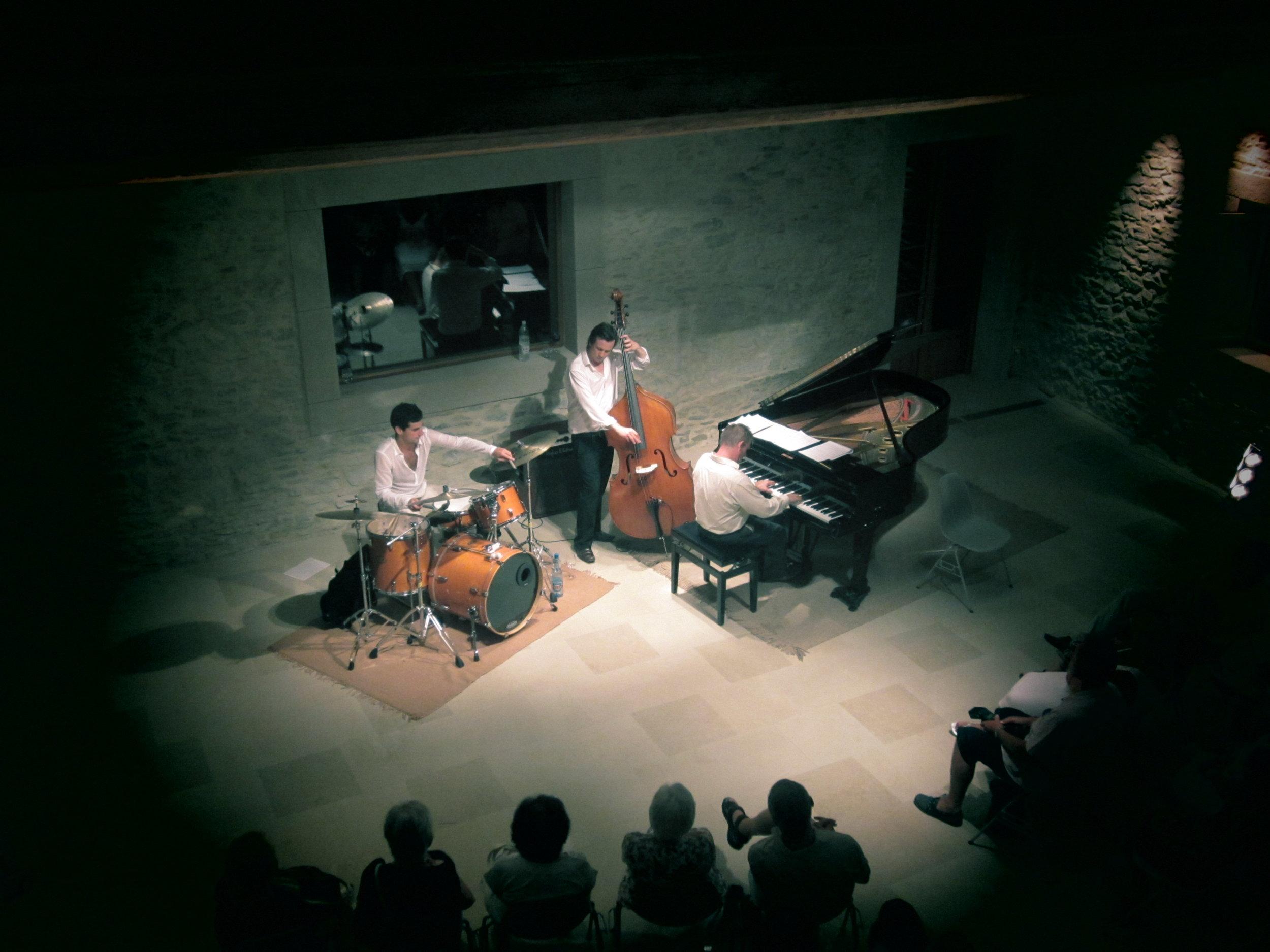 Ronnie Scott's Jazz trio - Chateau St. Jacques d'Albas 2011