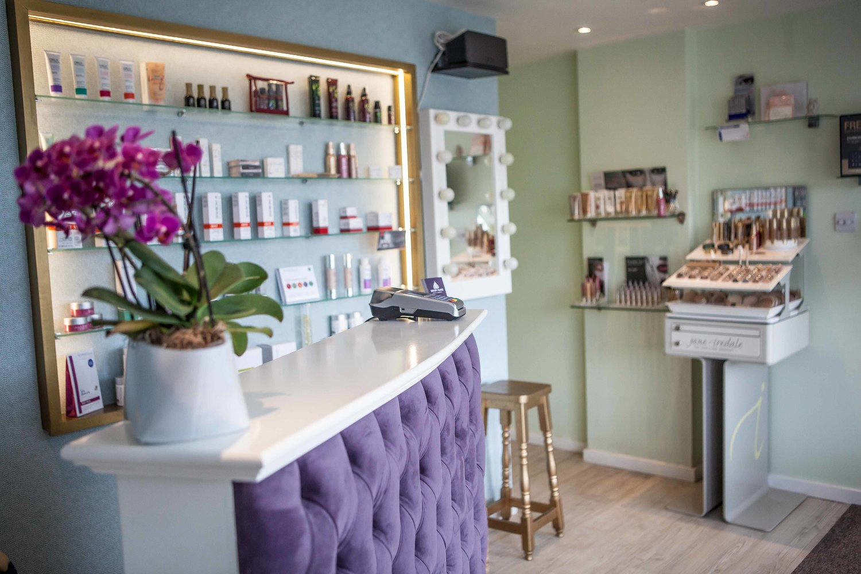 Sarah Hurst Skin & Beauty Salon Reception