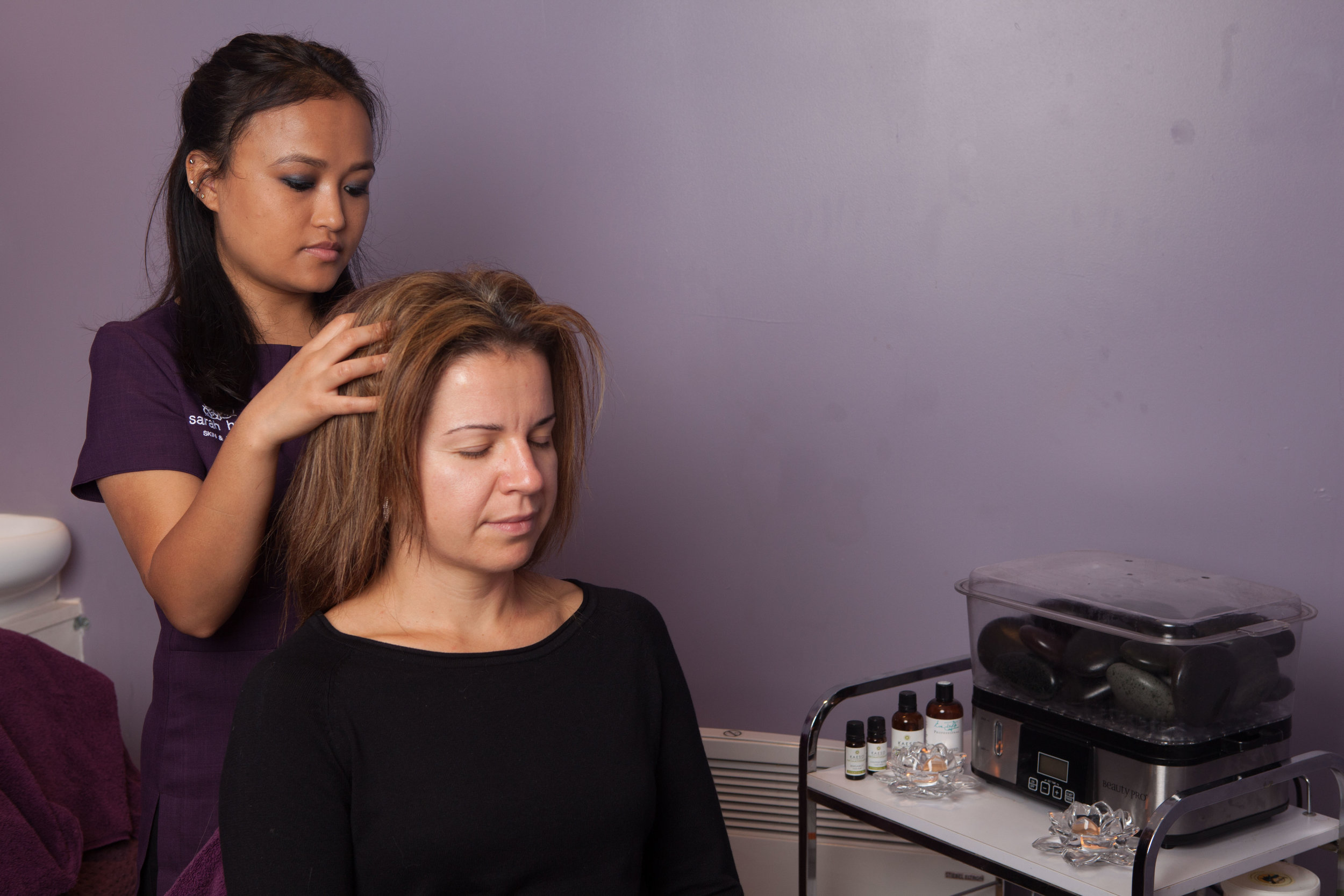 Indian Head Massage with Rasana