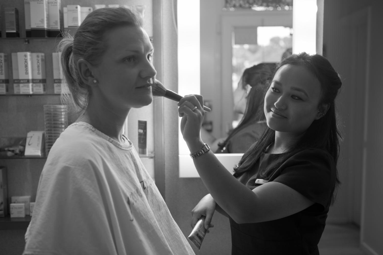Make-Up Lesson in Brighton