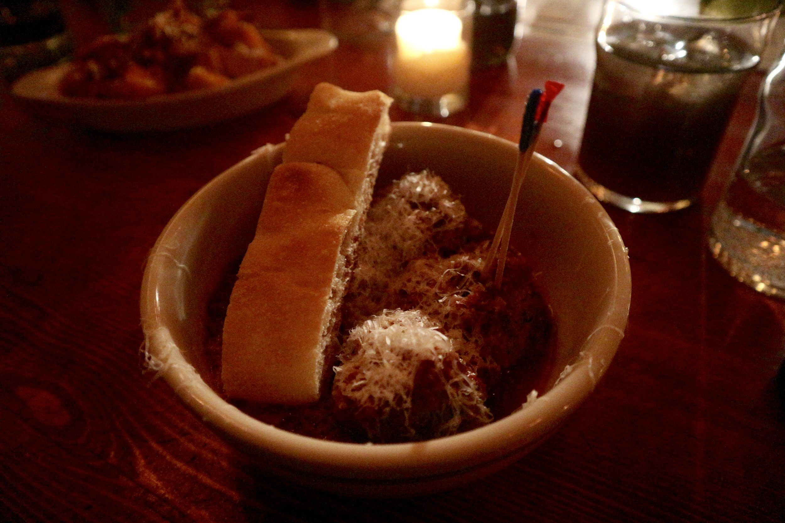Spicy Meatballs & Focaccia - The Meatball Shop