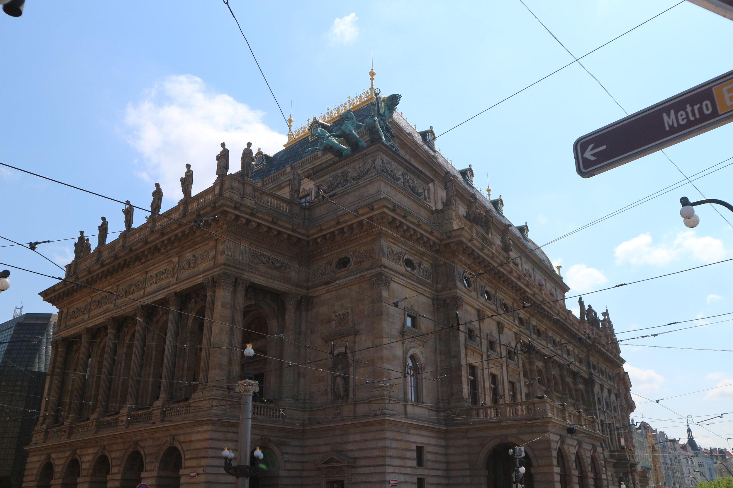 Prague National Theater - Alma Mater of Czech Opera