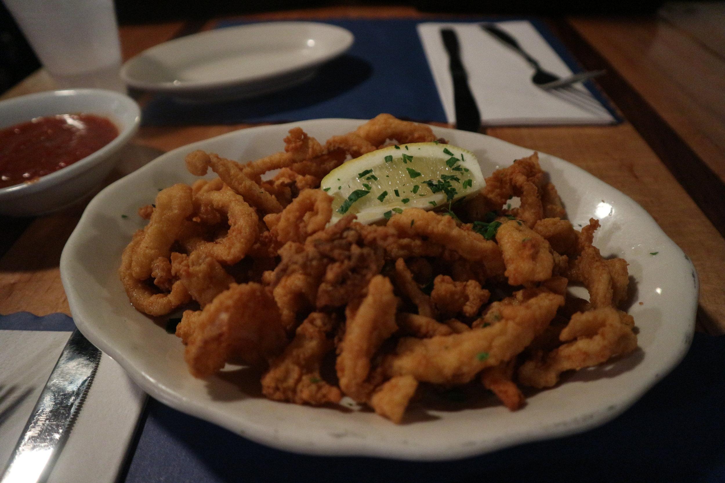 The Daily Catch: Calamari