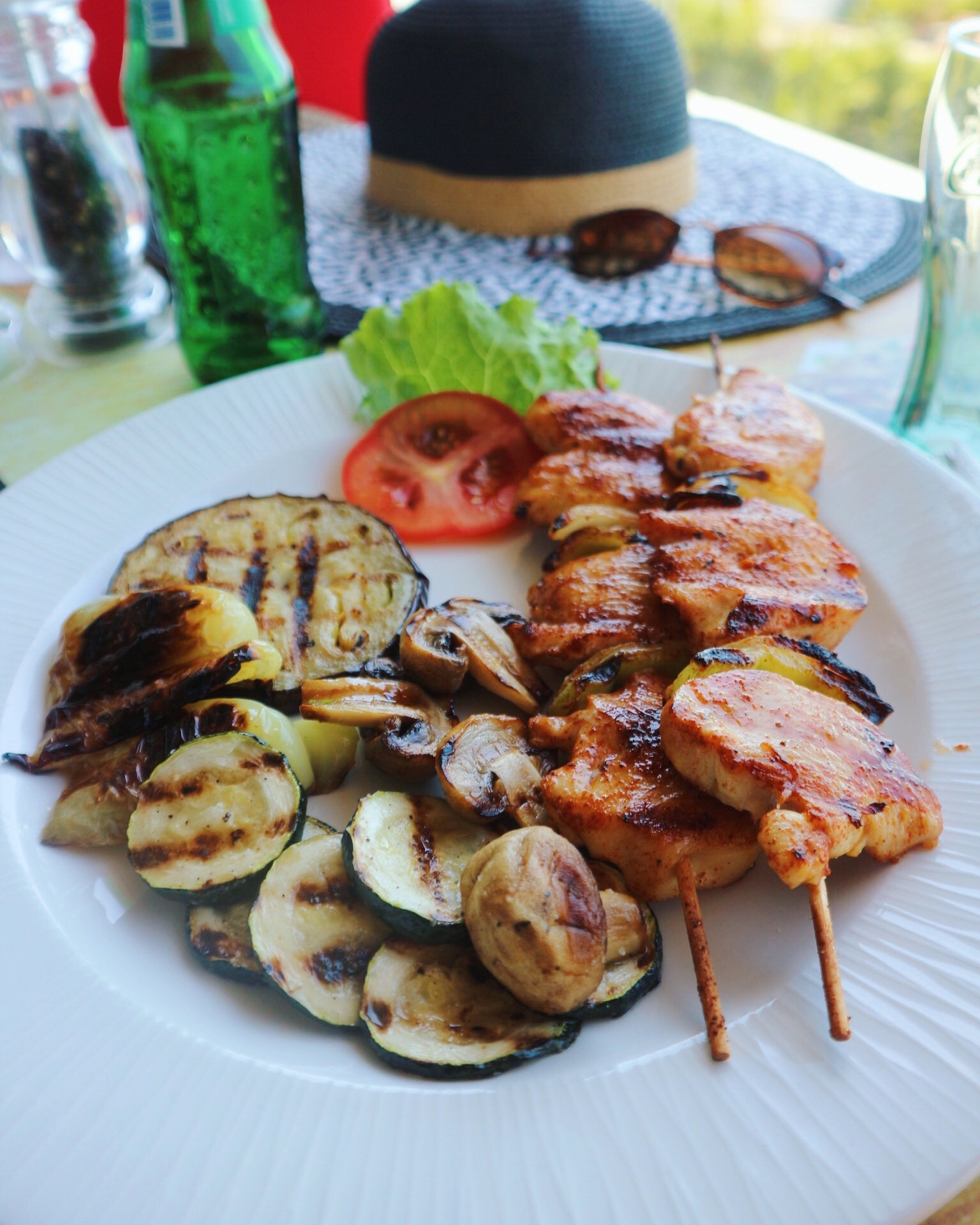 Kebabs from Kiks-Grill & More