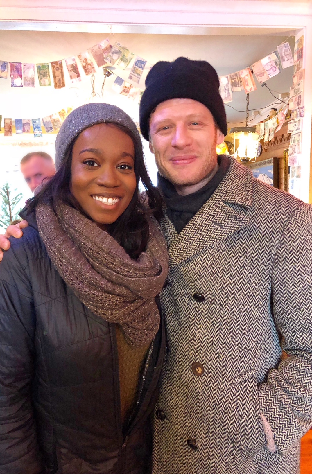 Meeting James Norton