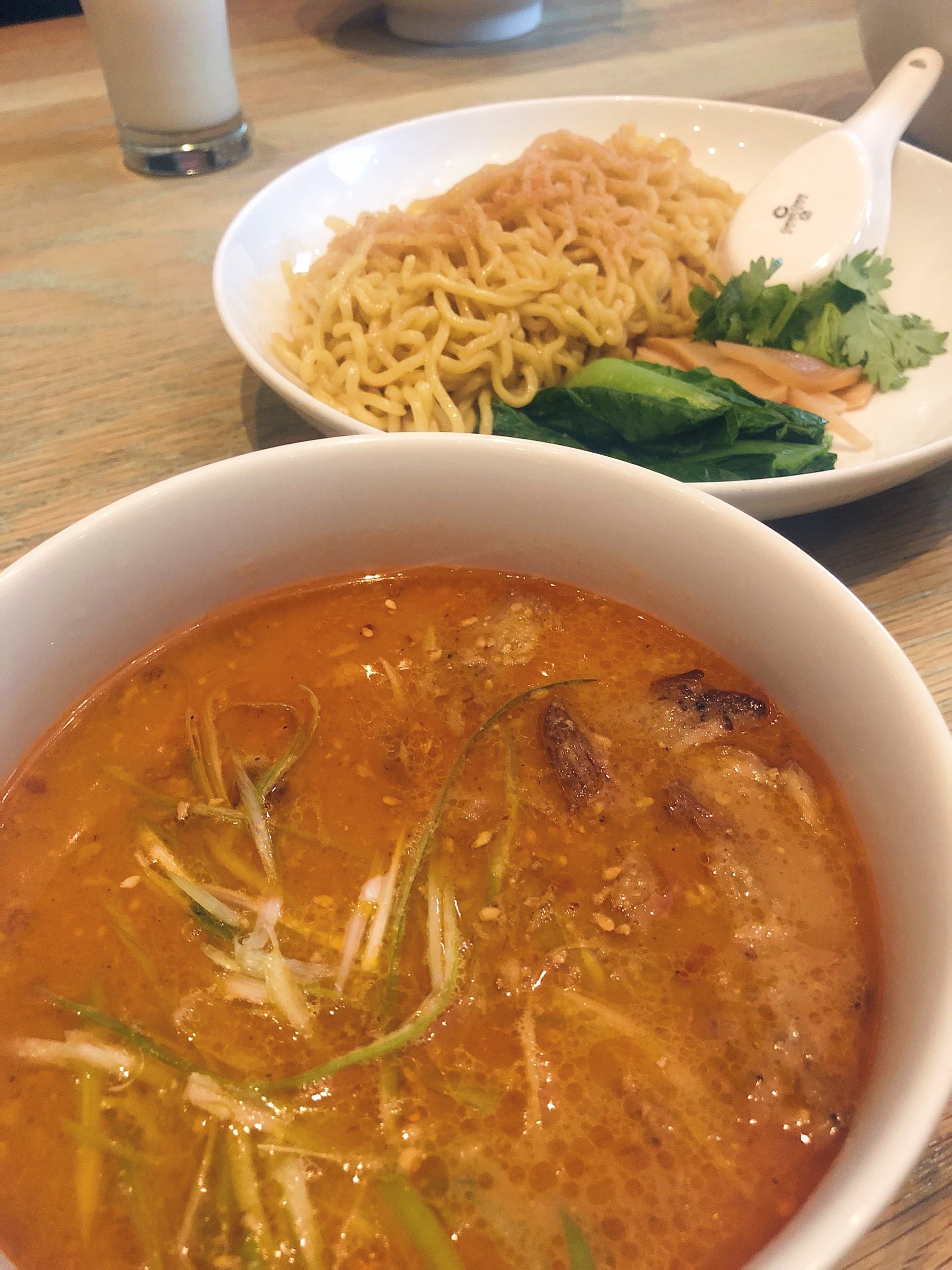TSUKEMEN noodles for dipping from Momofuku